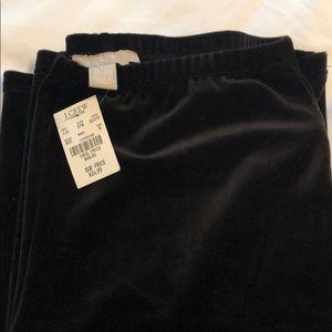 Pants - 🎉 2 for $15 JCrew Wide Leg Velvety Pants, size M